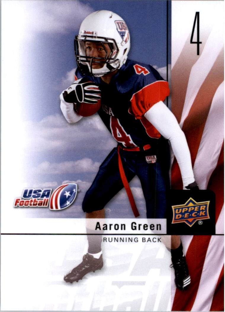 2011-12 Upper Deck USA Football #4 Aaron Green