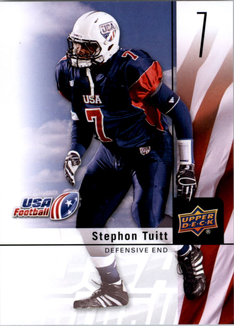 2011-12 Upper Deck USA Football #6 Stephon Tuitt