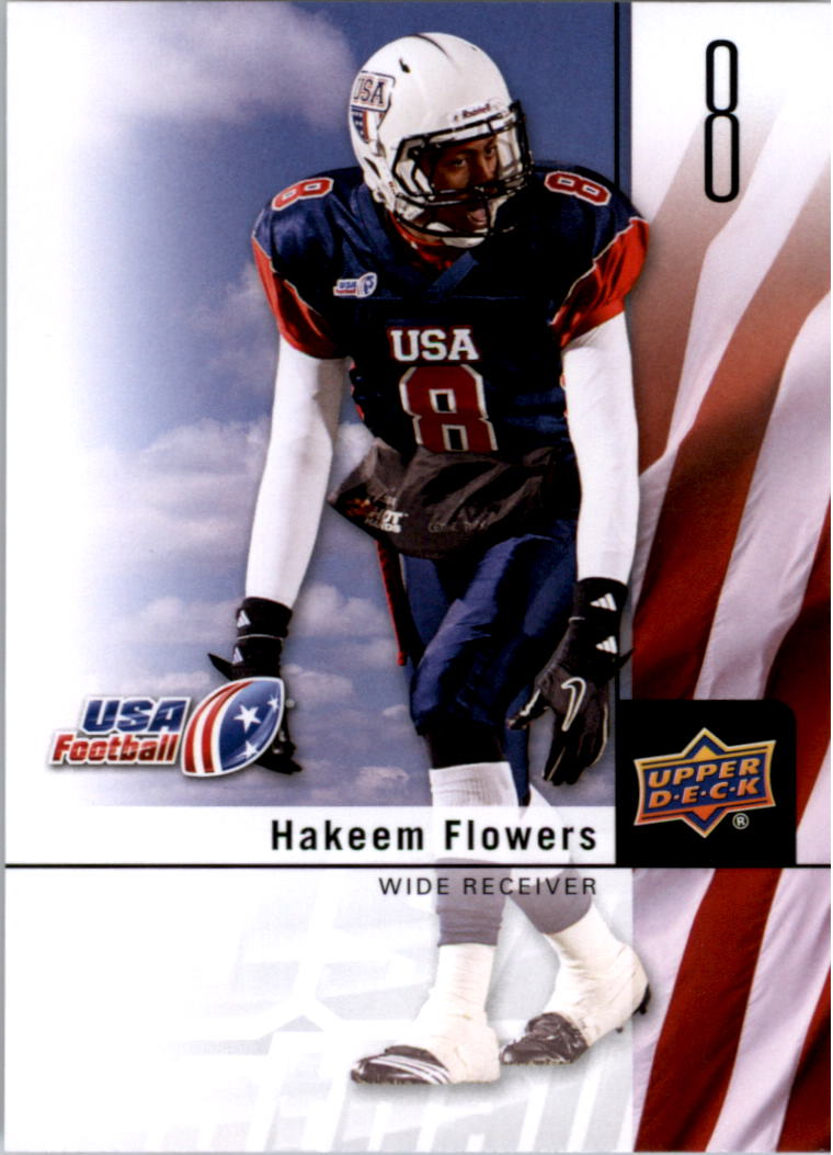 2011-12 Upper Deck USA Football #7 Hakeem Flowers