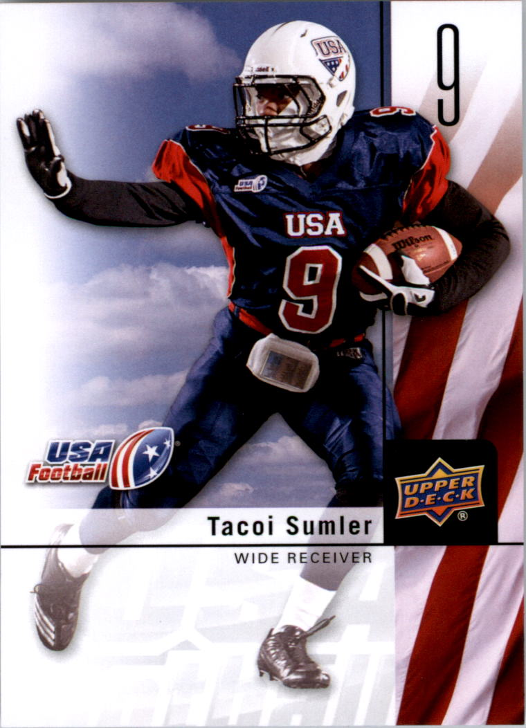 2011-12 Upper Deck USA Football #8 Tacoi Sumler
