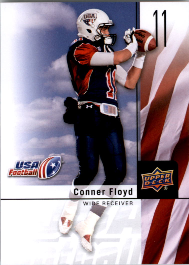 2011-12 Upper Deck USA Football #10 Conner Floyd