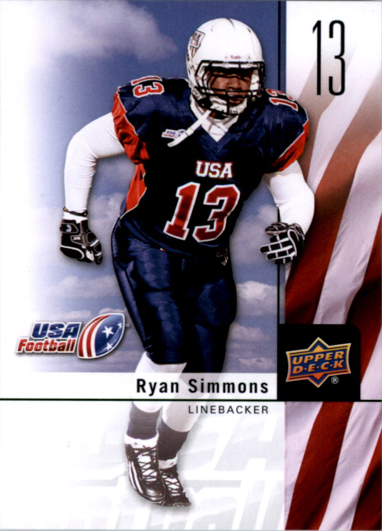 2011-12 Upper Deck USA Football #11 Ryan Simmons