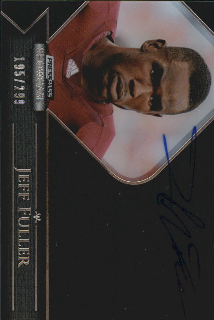 2012 Press Pass Showcase #SCJF Jeff Fuller/299