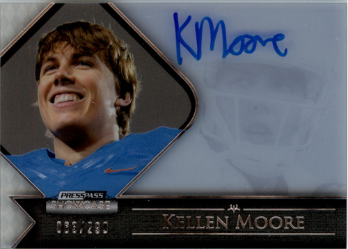 2012 Press Pass Showcase #SCKM Kellen Moore/293*