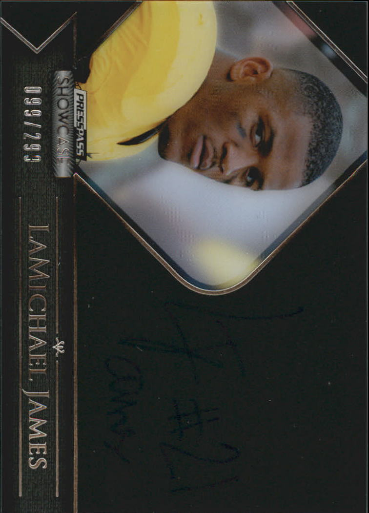 2012 Press Pass Showcase #SCLJ LaMichael James/289*