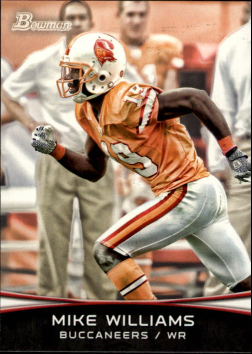 2012 Bowman #27 Mike Williams
