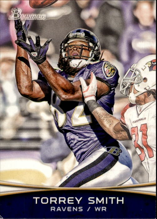 2012 Bowman #62 Torrey Smith