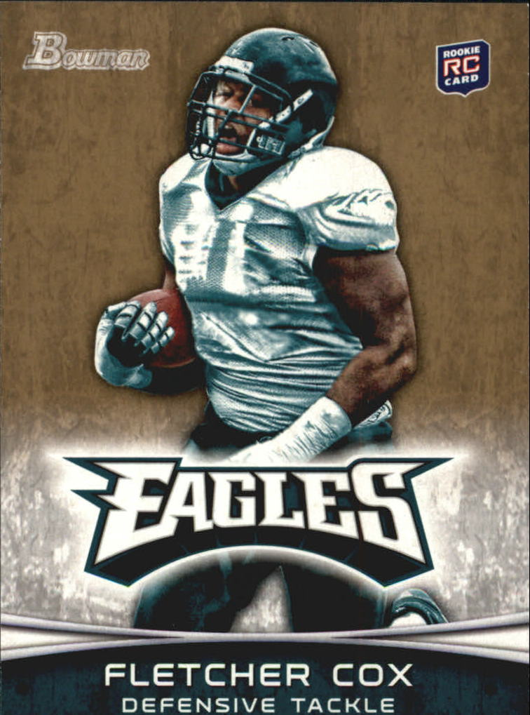 2012 Bowman Gold #101 Fletcher Cox