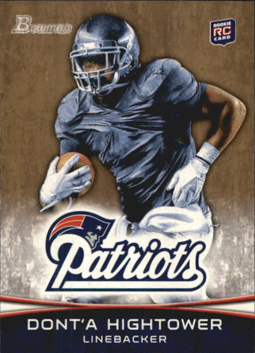 2012 Bowman Gold #102 Dont'a Hightower