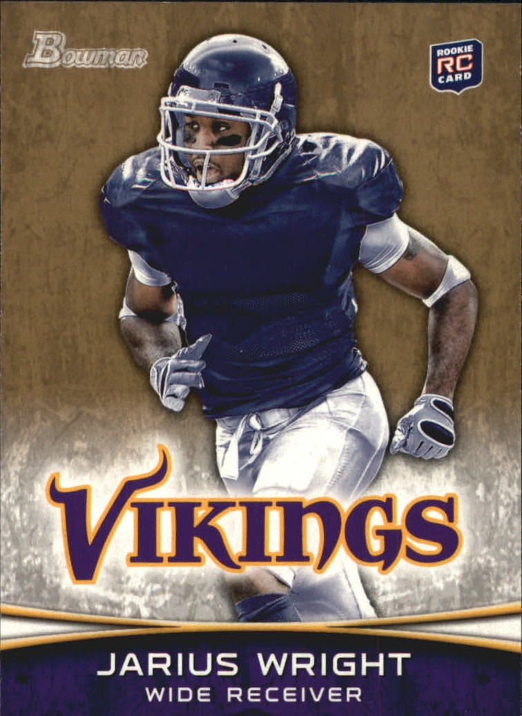 2012 Bowman Gold #109 Jarius Wright