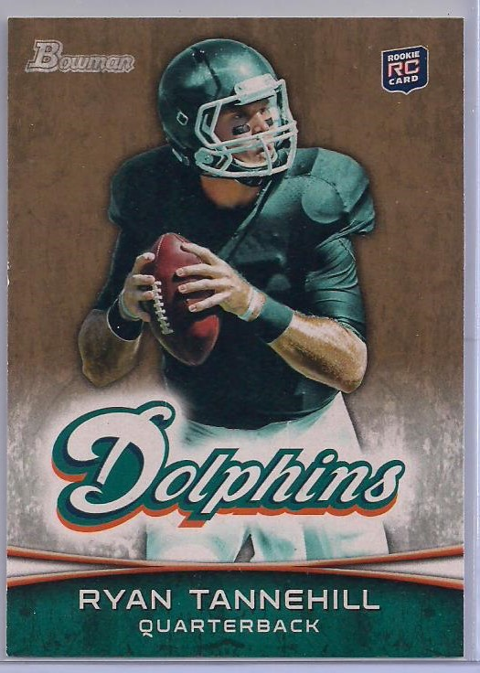 2012 Bowman Gold #110 Ryan Tannehill