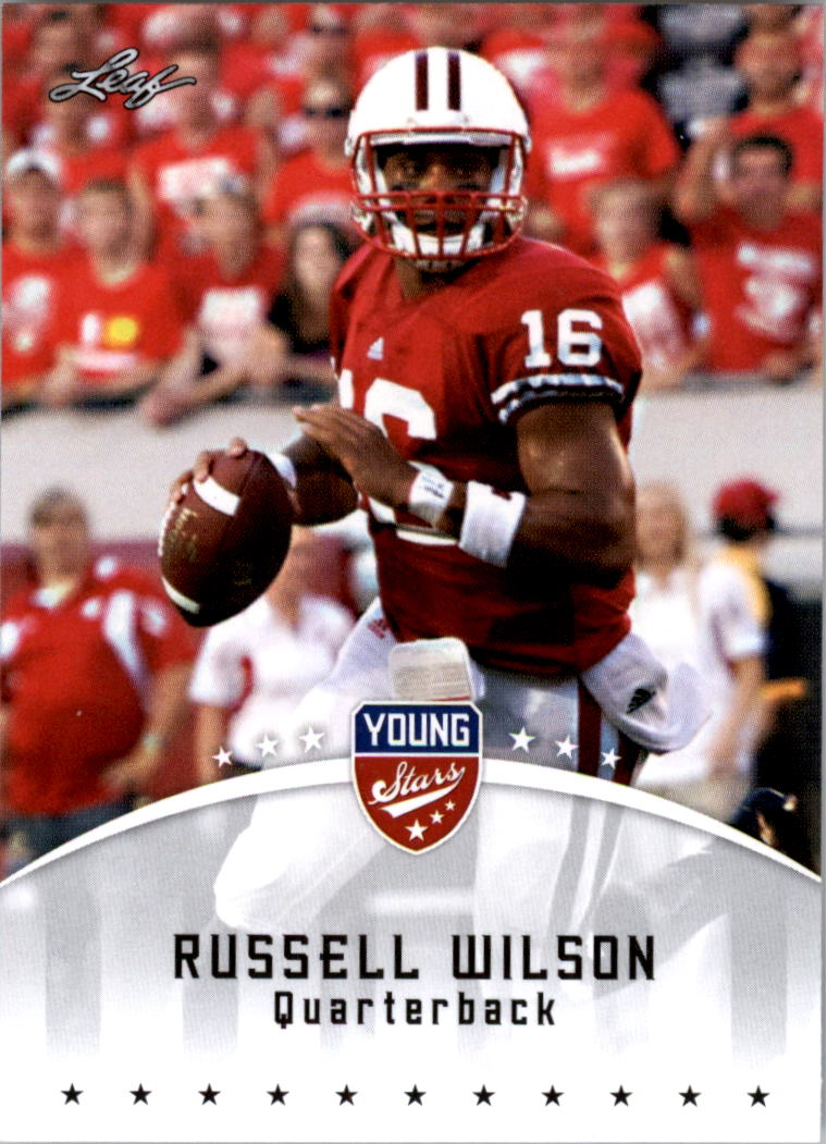 2012 Leaf Young Stars Draft #77 Russell Wilson