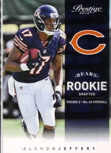2012 Prestige #274 Alshon Jeffery RC