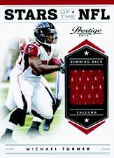 2012 Prestige Stars of the NFL Materials #2 Michael Turner/249