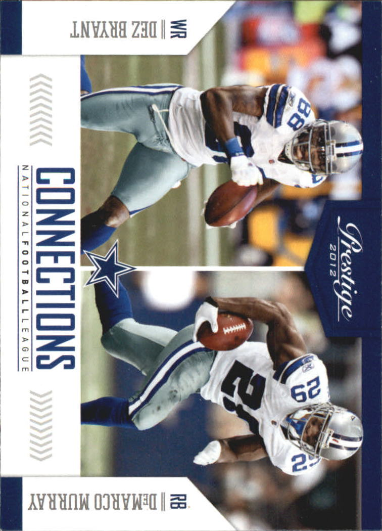 2012 Prestige Connections #5 Dez Bryant/DeMarco Murray