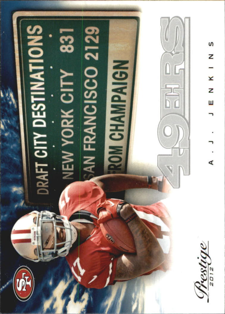 2012 Prestige Draft City Destination #1 A.J. Jenkins