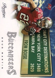 2012 Prestige Draft City Destination #5 Doug Martin
