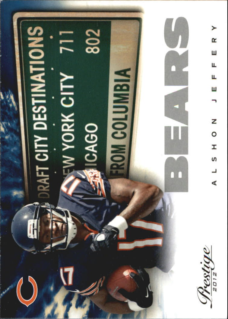 2012 Prestige Draft City Destination #12 Alshon Jeffery