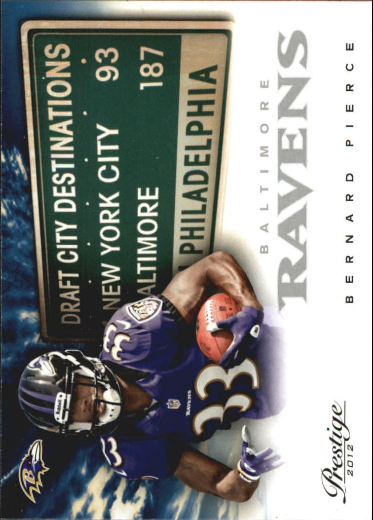 2012 Prestige Draft City Destination #13 Bernard Pierce