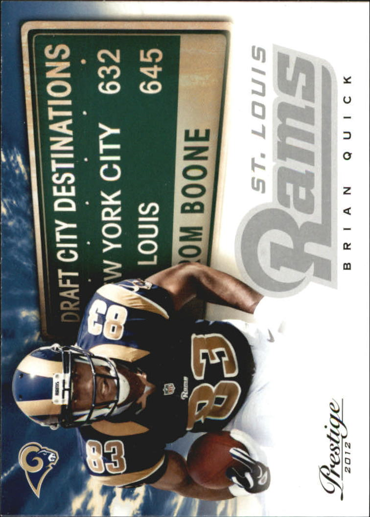 2012 Prestige Draft City Destination #14 Brian Quick