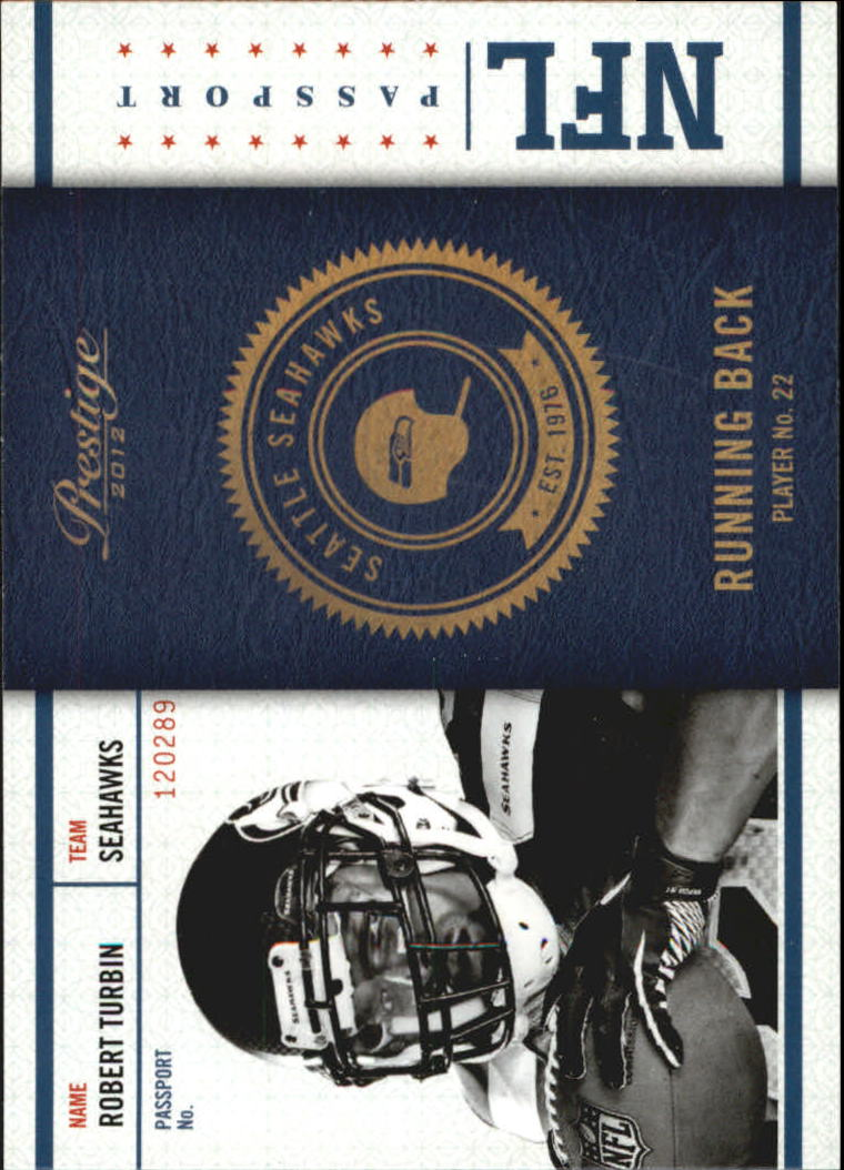 2012 Prestige NFL Passport #28 Robert Turbin