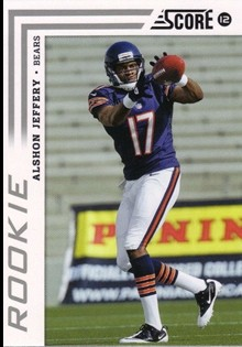 2012 Score #302A Alshon Jeffery RC