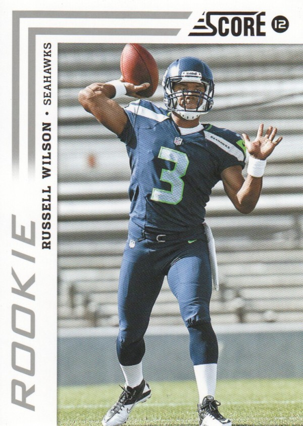 2012 Score #372A Russell Wilson RC/(passing)