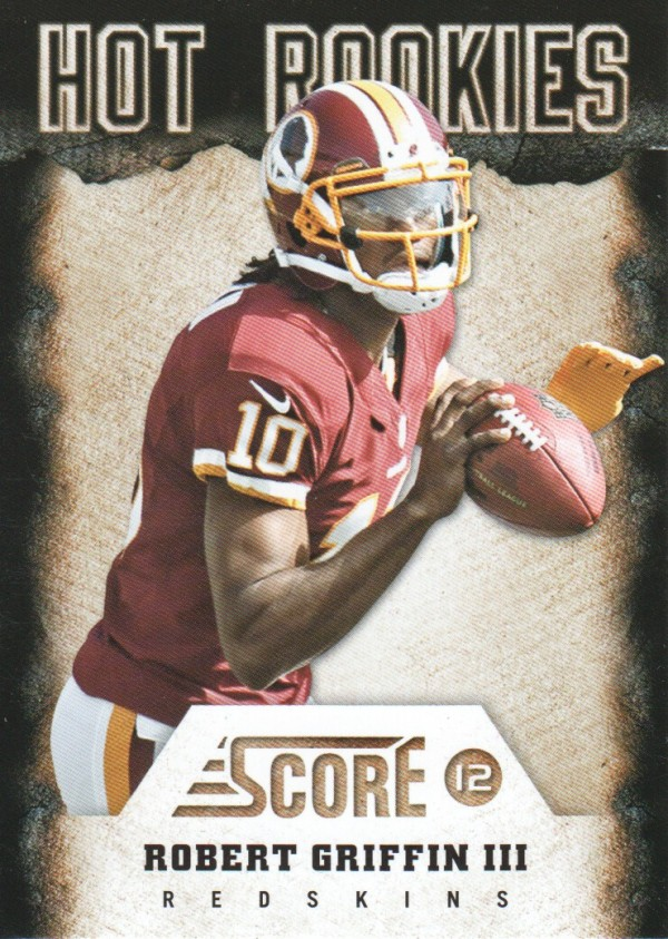 2012 Score Hot Rookies #2 Robert Griffin III