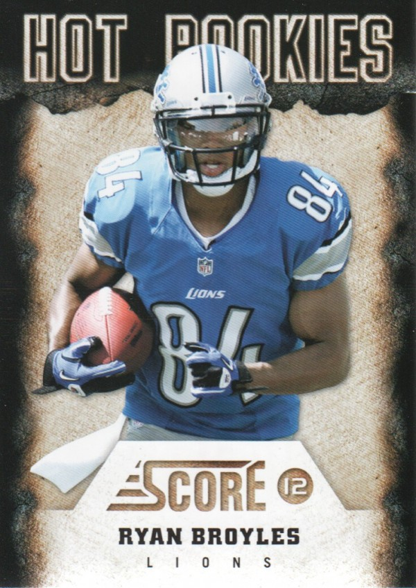 2012 Score Hot Rookies #17 Ryan Broyles