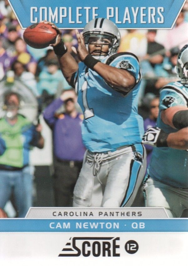 2012 Score Complete Players #1 Cam Newton