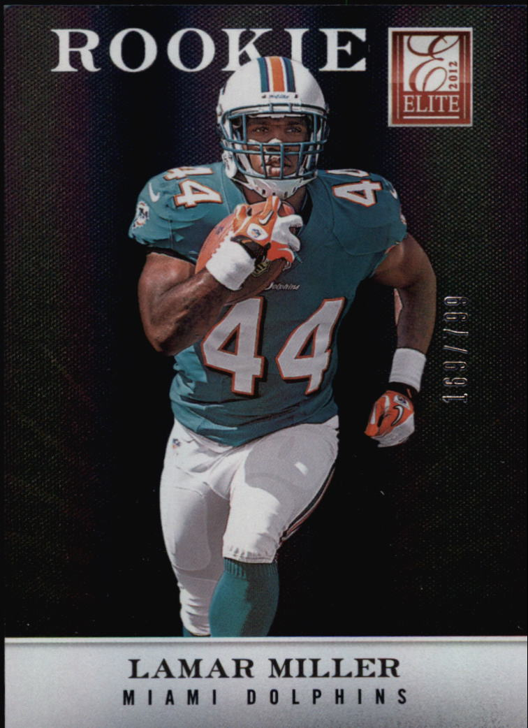 2012 Elite #133 Lamar Miller/799 RC