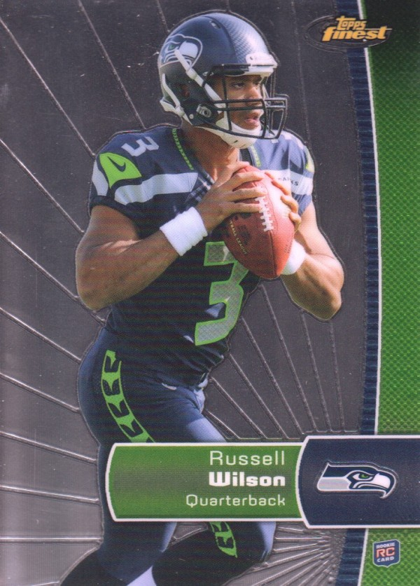 2012 Finest #140 Russell Wilson RC