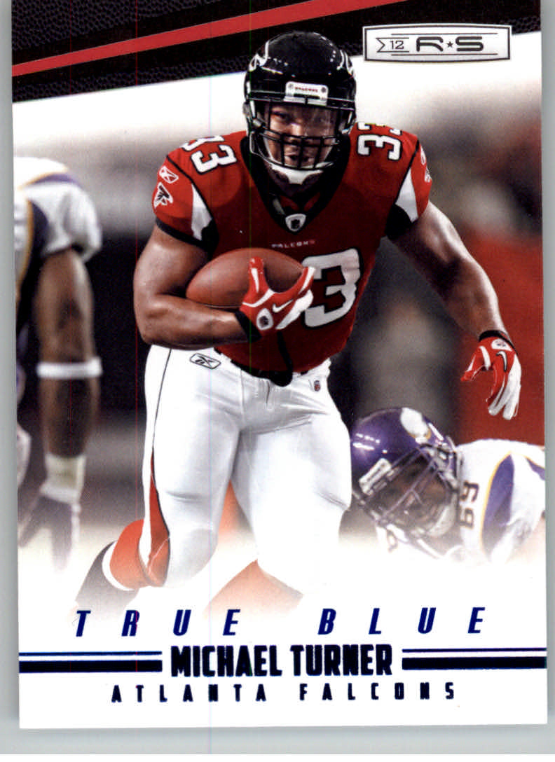 2012 Rookies and Stars True Blue #7 Michael Turner