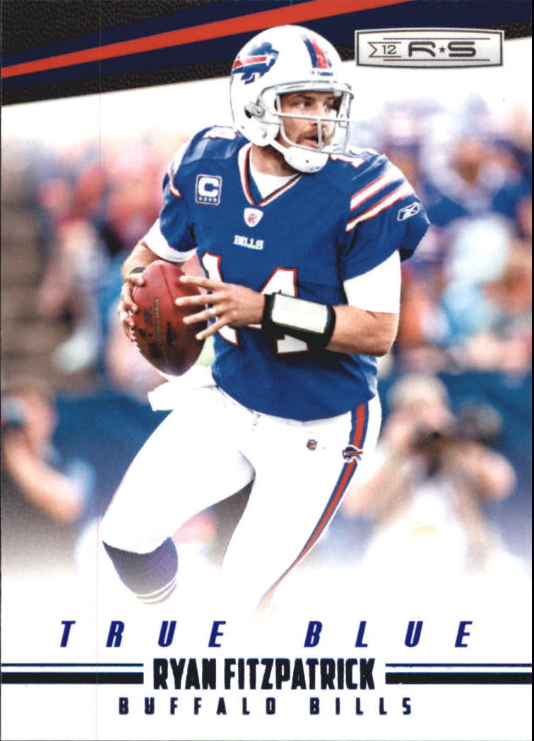 2012 Rookies and Stars True Blue #16 Ryan Fitzpatrick