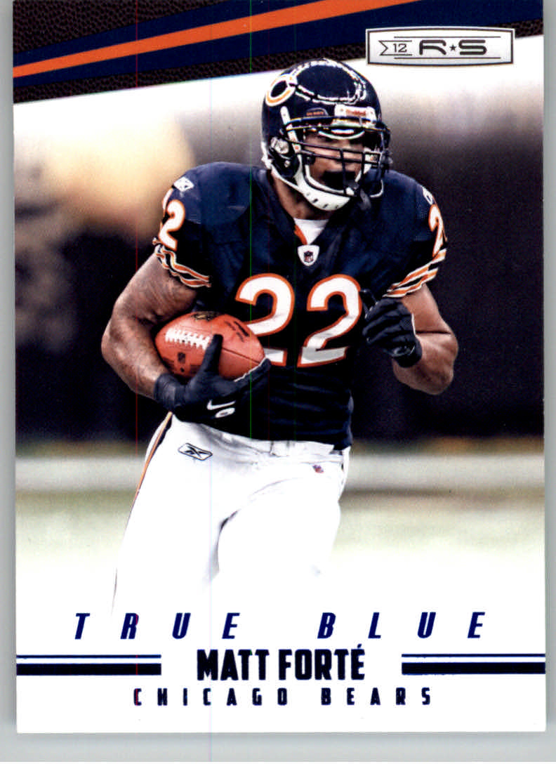2012 Rookies and Stars True Blue #25 Matt Forte