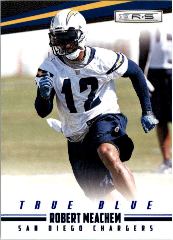 2012 Rookies and Stars True Blue #30 Robert Meachem