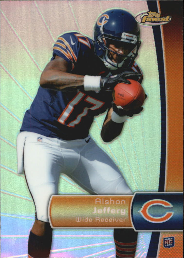 2012 Finest Refractors #119 Alshon Jeffery