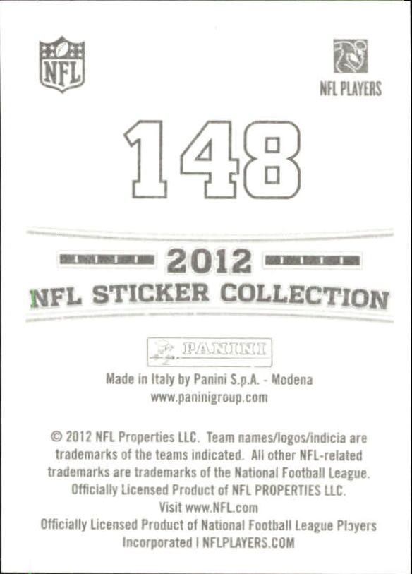 2012 Panini Stickers #148 Justin Blackmon