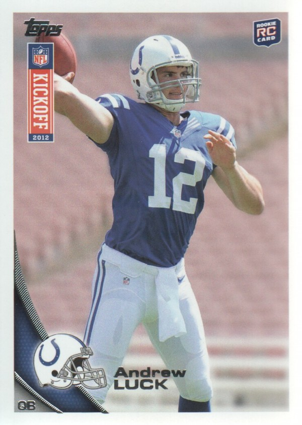 2012 Topps Kickoff #1 Andrew Luck