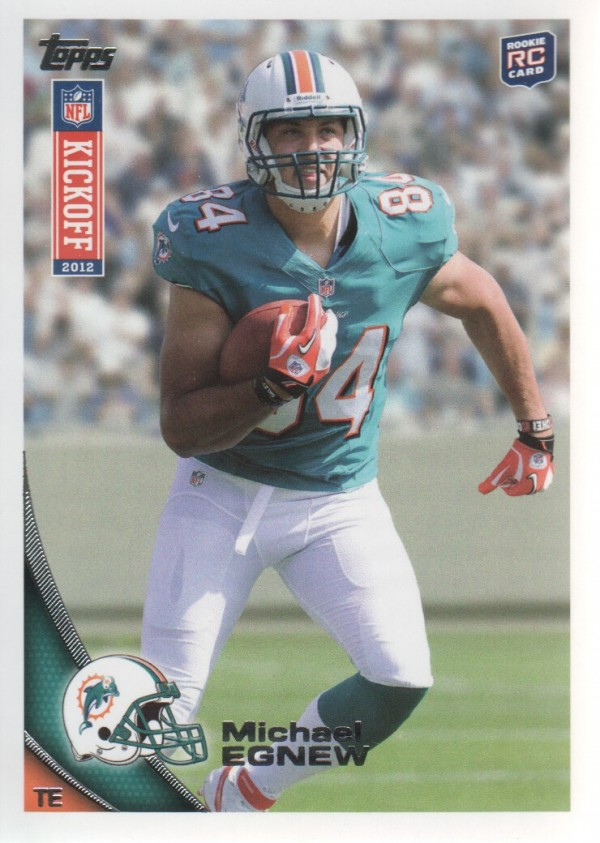 2012 Topps Kickoff #3 Michael Egnew