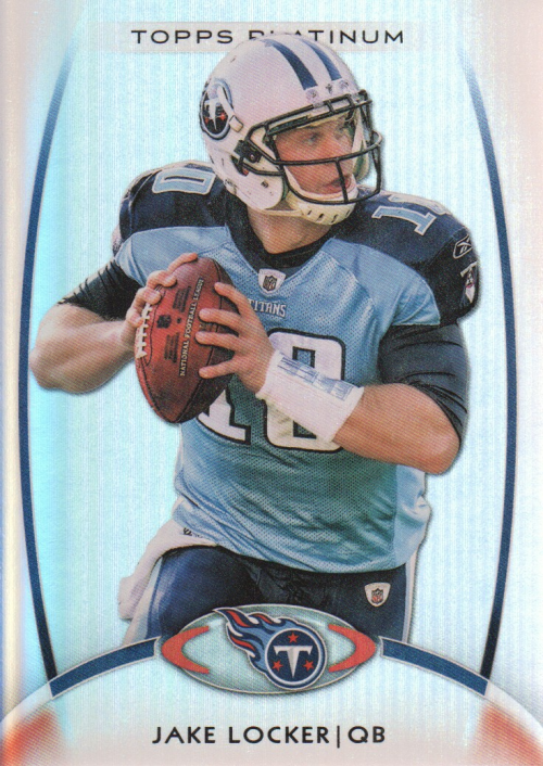 2012 Topps Platinum #79 Jake Locker