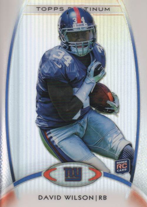 2012 Topps Platinum #106 David Wilson RC