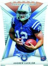 2012 Topps Platinum Rookie Die Cut #PDCAL Andrew Luck