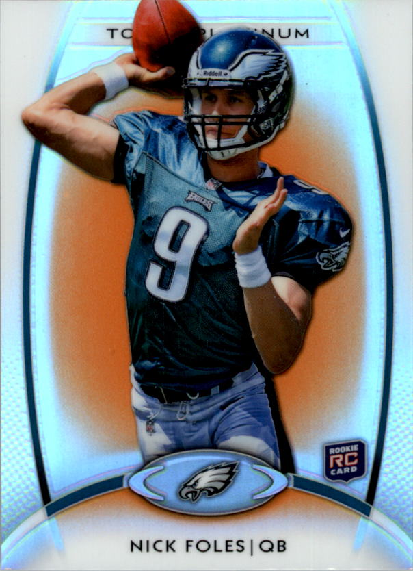 2012 Topps Platinum Orange Refractors #103 Nick Foles