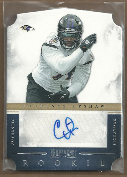 2012 Panini Prominence #172 Courtney Upshaw AU/499 RC