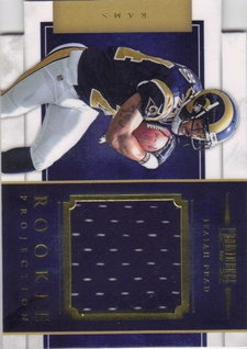 2012 Panini Prominence Rookie Projection Materials #9 Isaiah Pead