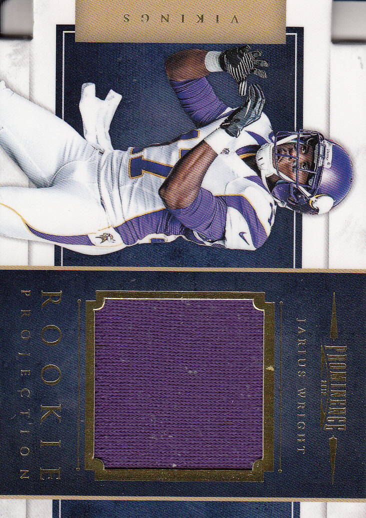 2012 Panini Prominence Rookie Projection Materials #25 Jarius Wright
