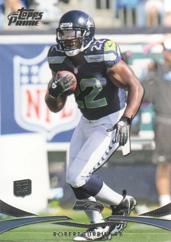 2012 Topps Prime #103 Robert Turbin RC