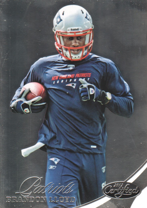2012 Certified #1 Brandon Lloyd