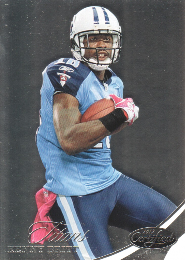 2012 Certified #43 Kenny Britt